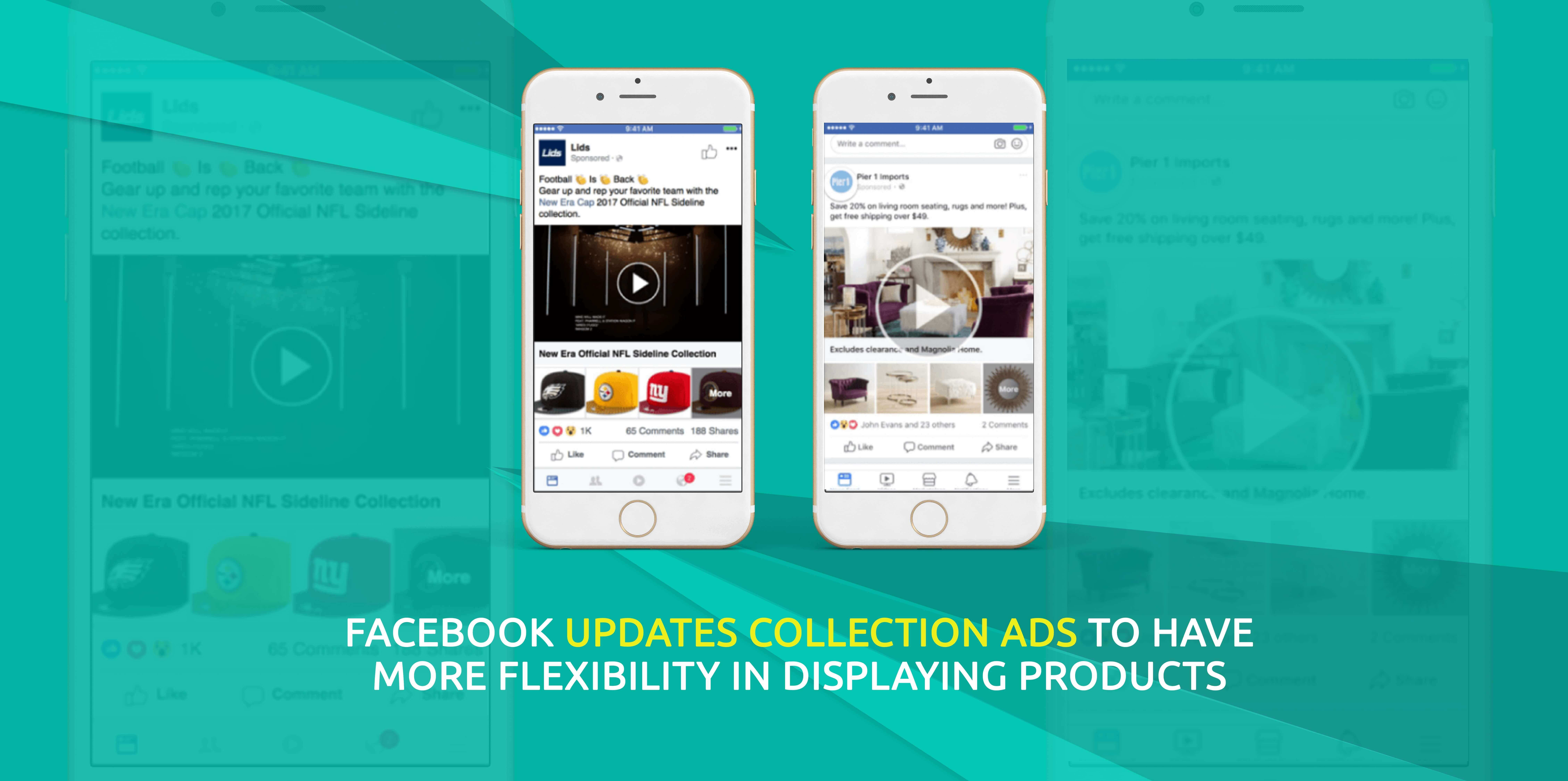 Facebook Collection Ads Update