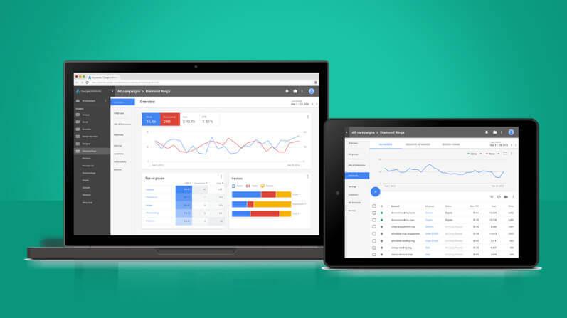 Google Ads New User Interface