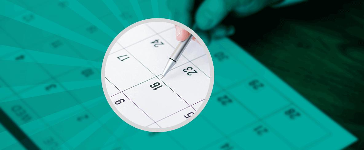 Take Note of Key Dates